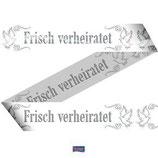"""Absperrband """"Frisch verheiratet"""""""