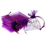 Organzasäckchen - violette