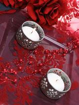 Perlenkette à 5 Stück rot