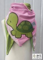 Dreieckstuch Schildkröte / Appli - Nr. 63