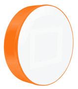 Leuchtkasten einseitig Scheibe rund |Durchmesser: 800 mm | mit Beschriftung