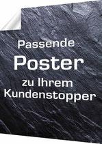 Poster passend zu Kundenstopper: Format A1 und B1
