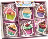 Goma borrar cupcake Ref. 24083 / 30 uds.
