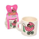 Ref. 25200 Taza mini bebé rosa