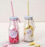 Ref. ID744 Botella con caña y caramelos