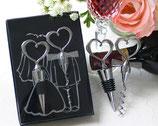 Ref. 2505 Set de vino corazones