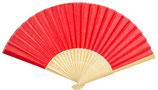 Abanico bambú rojo Ref. 24142