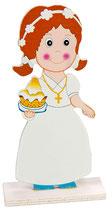 Figura pastel Niña REF. 24015