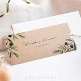 Invitación boda Génova