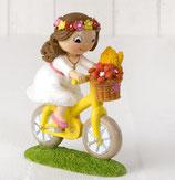 Ref. Y912.2 Figura pastel niña bici