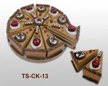 10 cajas pastelito Ref: 2624 stdo.