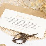 Invitación boda Daisy