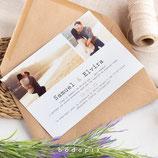 Invitación boda Memory