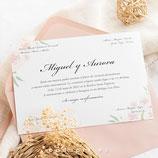 Invitación boda  Pink Palace