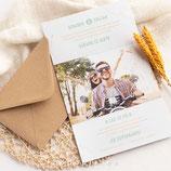 Invitación boda Saona