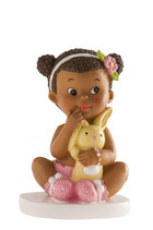 Ref. 6542 Figura pastel bebé niña