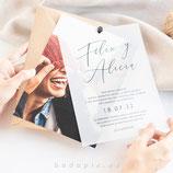 Invitación boda Moments
