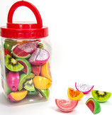 Sacapuntas fruta 24 uds REf. 24155