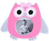 Portafotos búho ojos rosa Ref. 6596