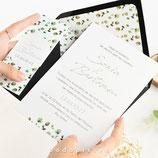 Invitación boda Nature