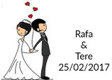 Etiqueta boda ref. TS040