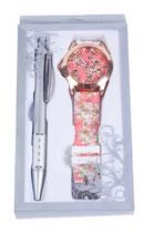 Reloj floral y boligrafo Ref. 2705 stdo.