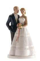 Ref. 2865 Figura pastel boda