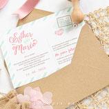 Invitación boda Post