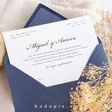 Invitación boda Palace