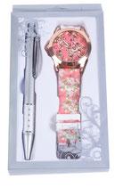 Reloj floral y boligrafo Ref: 2705 stdo.
