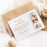Invitación boda Sand