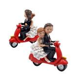 Ref. 27235 Figura novios en moto