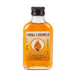 Ref. 26223 Petaca cristal vodka caramelo