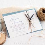 Invitación boda Siena