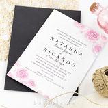 Invitación boda Violet