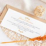 Invitación boda Maya