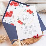 Invitación boda Wish