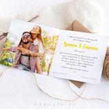 Invitación boda Lima