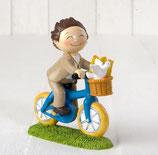 Ref. Y912.3 Figura pastel niño bici