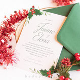 Invitación boda Elf