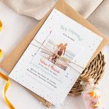 Invitación boda Joy