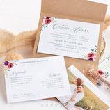 Invitación boda Amelia