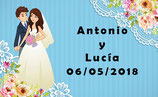 Etiqueta boda ref. TL017