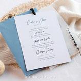 Invitación boda Senses