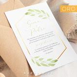 Invitación boda Atenas