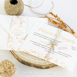 Invitación boda Otoño