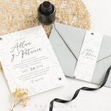 Invitación boda Fiorella