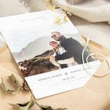 Invitación boda Minimal