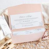 Invitación boda Julieta