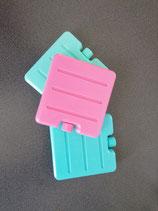 Kühlakkus für dein Lunchbag aqua/türkis/rosa
